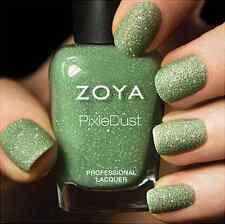 ZOYA PixieDust ZP659 VESPA mint matte sparkle nail polish lacquer~PIXIE DUST New