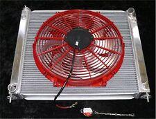 FOR NISSAN 300ZX 90-96 ALUMINUM RADIATOR, FANS & CONTROLLER