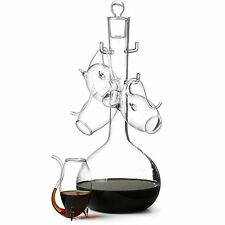 Vinology Collection PORT Sipper DECANTER SET with 4 Port Sipper Glasses