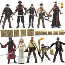 10pcs Indiana Jones figure &Box WILLIE SCOTT TEMPLE GUARD OF DOOM Toy Collection