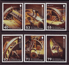 GUERNSEY 2014 EUROPA MUSICAL INSTRUMENTS SET OF 6 UNMOUNTED MINT, MNH