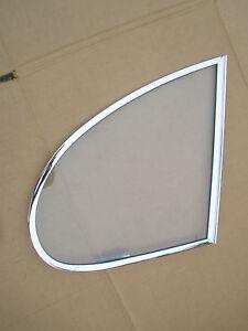 Jaguar MKX, 420G LH, OR RH Rear Vent Window, Original Clear Triplex Toughened