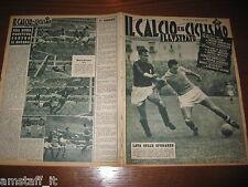 IL CALCIO E CICLISMO ILLUSTRATO 1956/10=VINICIO NAPOLI MILAN=ROMA NOVARA=