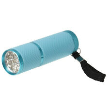 Mini Dryer Light Curing Torch Flashlight for UV Gel Nail Polish (Blue) C6R3