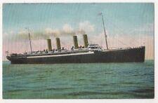 Nordd. Lloyd-Bremen Kronprinz Wilhelm Shipping Postcard B626