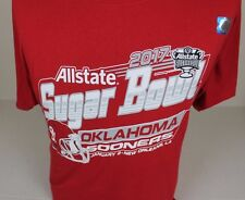 2017 NWT SUGAR BOWL GAME UNIVERSITY OF OKLAHOMA SOONERS FOOTBALL T-SHIRT SIZE M