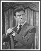 ~  The Name of the Game 1950s Original NBC TV Promo Photo Anthony Franciosa