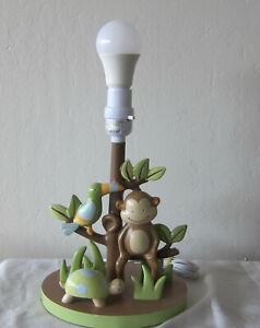 Lambs and Ivy  nursery PAPAGAYO lamp base; new