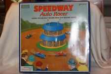 SCHYLLING COLLECTOR'S SERIES SPEEDWAY AUTO RACER WIND UP TIN TOY MIB