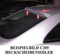 SPOILER HECKSCHEIBE FÜR MERCEDES C209 W209 CLK  MIT GUTACHTEN MP DESIGN