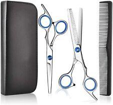 Forbici per parrucchiere, Set professionale per taglio dei capelli in acciaio