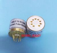 1PC 12AU7 (top) TO E88CC Vacuum Tube socket Convert  Adapter tube AMP DIY
