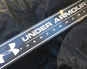 Under Armour Store Performance Display Sign In Store Sign Metal