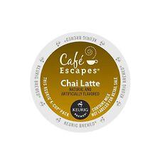 Cafe Escapes Chai Latte Keurig K-Cups 24-Count