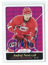 Andrej Nestrasil Signed 2015/16 O-Pee-Chee Card #42