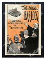 Historic Royal Bar-LockThe Typewriter Co. Ltd., London Advertising Postcard 1