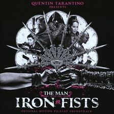 The Man with the Iron Fists CD soundtrack Black Keys RZA Kanye West VG