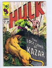 Incredible Hulk #109 Marvel 1968