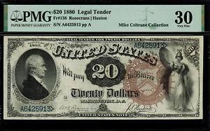 1880 $20 Legal Tender FR-138 - Graded PMG 30 - Very Fine - RARE!!