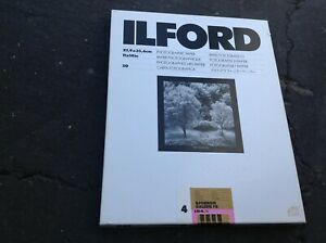 vintage ILFOBROM GALERIE FB  11 X 14 B & W  50 count sealed EXPIRED AS IS