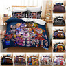 3D Five Nights at Freddy's FNAF Doona Quilt Cover Duvet Cover Pillow Case 2#