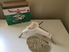 mouli julienne Moulinex 3 lames pliable vintage découper émincer râper