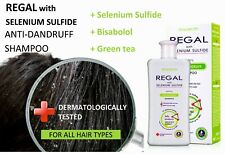 REGAL ANTI-DANDRUFF SHAMPOO FOR ALL HAIR TYPES with Selenium Sulfide