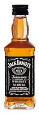 Jack Daniels Tennessee Whiskey 0,05l Miniatur