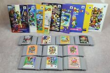 Nintendo 64 Japan 10 N64 game lot Zelda Mario Party 1 2 3 Star Fox Kirby Pokemon
