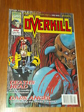 OVERKILL #20 MARVEL BRITISH MAGAZINE 15 JANUARY 1993 DEATHS HEAD II DARK ANGEL^