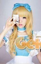 Alice's Adventures in Wonderland Schöne Prinzessin Lolita Cosplay Perücke Wig
