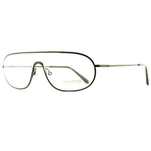 Tom Ford FT5155 049 Brown Aviator Brillengestell Brille