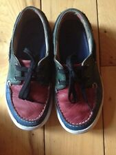 Burberry Kids Boat Shoes In Sz EU 28 US 10