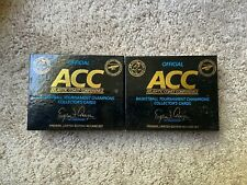 (2) 1992 ACC Basketball Tournament Champions Cards - 40 Card Sets (2 Sets)