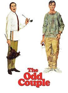 The Odd Couple 1968 ~ 16 MM Feature Film Technicolor,  Jack Lemmon Walter Mathow
