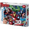 Clementoni Marvel The Avengers 3D Vision Jigsaw Puzzle (104 Piece) NEW