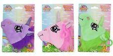Bolso Unicornio de Peluche suave para niños con Clip ~ Color varían