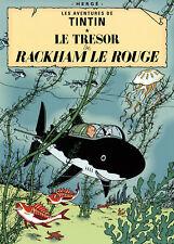 Herge-Les Aventures de Tintin: Le Tresor de Rackham le Rouge-Poster