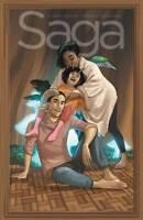 Saga Volume 9 GN Brian K Vaughan Fiona Staples Y the Last Man Image New NM