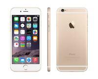 "Apple iPhone 6 4.7"" GOLD 64GB 4G LTE GSM UNLOCKED Smartphone SRF"