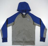 NWOT Air Force Falcons Nike Therma Fit Gray Blue Full Zip Hooded Jacket Hoodie M