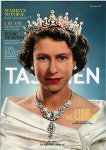 Taschen Catalog Summer 2012 • Queen Elizabeth II, The Beatles, Marilyn Monroe