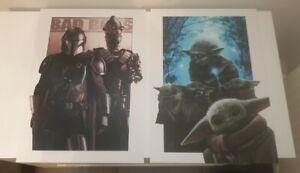 Mandalorian Star Wars  2 no A3 artprints