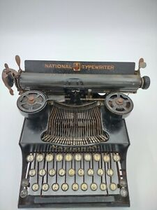 National Typewriter No.5-needs repair