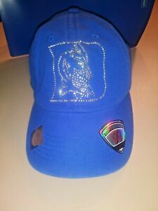 NWT - Duke Blue Devils - Women's Hat by Top of World - Rhinestone Devil Logo