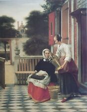 Pieter de Hooch, Mistress and Maid, Masterpieces from the Hermitage Collection