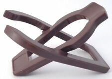 Single Brown Plastic Folding Tobacco Pipe Stand Rack Holder Pipe Rest - 1036