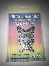 All occasion dies Large butterflies
