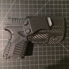 Springfield Armory xds 3.3  kydex holster iwb (carbon fiber)