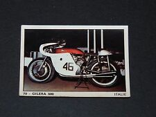 #70 GILERA 500 ITALIE ITALIA MOTO 2000 PANINI EDITIONS DE LA TOUR 1973